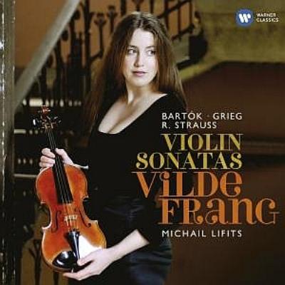 グリーグ:ヴァイオリン・ソナタ第1番、バルトーク:無伴奏ヴァイオリン・ソナタ、R.シュトラウス:ヴァイオリン・ソナタ フラング、リフィッツ