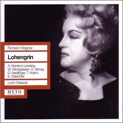 『ローエングリン』全曲 マゼール&バイロイト、ヴィントガッセン、ノルドモ=レーヴベリ、他(1960 モノラル)(3CD)