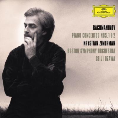 ピアノ協奏曲第1番、第2番 ツィマーマン、小澤征爾&ボストン交響楽団