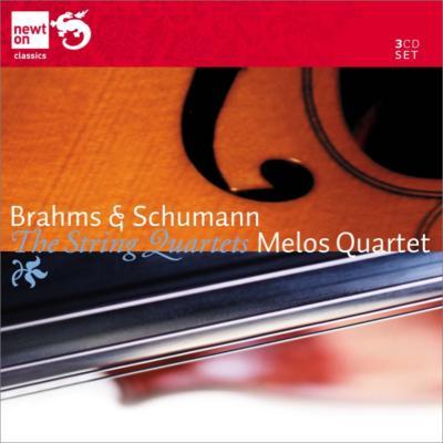 シューマン:弦楽四重奏曲全集、ブラームス:弦楽四重奏曲全集 メロス四重奏団(3CD)