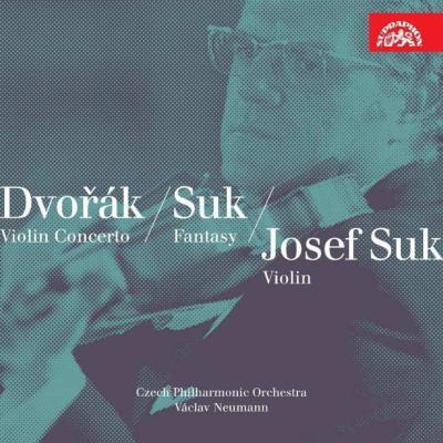 ドヴォルザーク:ヴァイオリン協奏曲、ロマンス、スーク:幻想曲、『おとぎ話』第1曲 スーク、ノイマン&チェコ・フィル