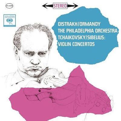 チャイコフスキー:ヴァイオリン協奏曲、シベリウス:ヴァイオリン協奏曲 オイストラフ、オーマンディ&フィラデルフィア管弦楽団