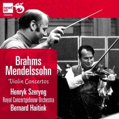 ブラームス:ヴァイオリン協奏曲、メンデルスゾーン:ヴァイオリン協奏曲 シェリング、ハイティンク&コンセルトヘボウ管弦楽団
