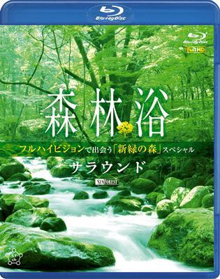 森林浴サラウンド フルハイビジョンで出会う「新緑の森」スペシャル