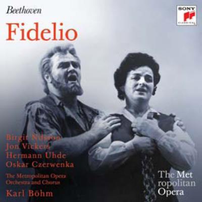 『フィデリオ』全曲 ベーム&メトロポリタン歌劇場、ニルソン、ヴィッカーズ、他(1960 モノラル)(2CD)