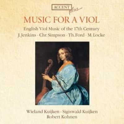 『17世紀のヴィオールための音楽』 W.クイケン、S.クイケン、コーネン