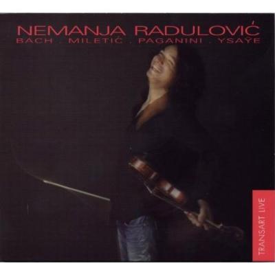 バッハ:無伴奏ヴァイオリンのためのパルティータ第2番、イザイ:無伴奏ヴァイオリン・ソナタ集、他 ラドゥロヴィチ