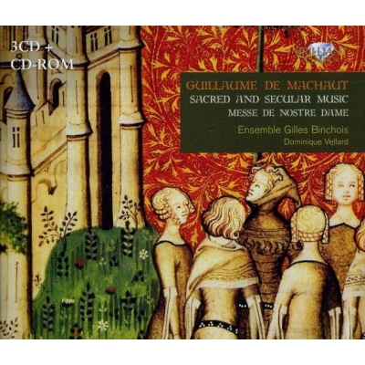Sacred & Secilar Music: Vellard / Ensemble Gilles Binchois