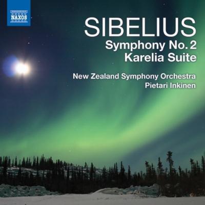 交響曲第2番、カレリア組曲 インキネン&ニュージーランド交響楽団