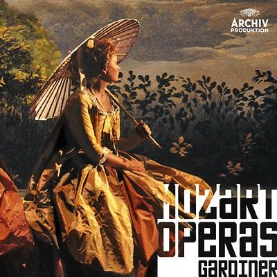 7つのオペラ全曲〜フィガロ、魔笛、ドン・ジョヴァンニ、コジ・ファン・トゥッテ、ティート、後宮、イドメネオ ガーディナー指揮(18CD)