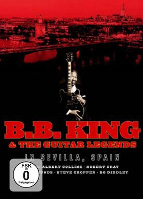 Bb King & The Guitar Legends In Sevilla, Spain