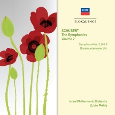 交響曲第5、6、9番、『ロザムンデ』より メータ&イスラエル・フィル(2CD)