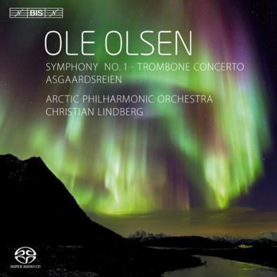 交響曲第1番、アースガルズの騎行、トロンボーン協奏曲 リンドベルイ&アークティック・フィル