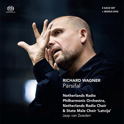 『パルジファル』全曲 フォークト、ホル、シュトルックマン、ダライマン、ズヴェーデン&オランダ放送フィル(2010)(4SACD+ボーナスDVD)