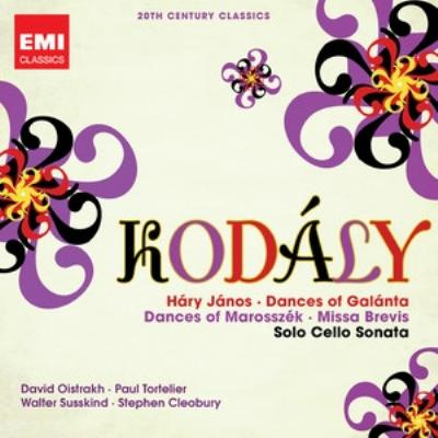 『ハーリ・ヤーノシュ』組曲(テンシュテット指揮)、ミサ・ブレヴィス(キングズ・カレッジ合唱団)、無伴奏チェロ・ソナタ(トルトゥリエ)、他(2CD)