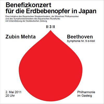 交響曲第9番『合唱』 メータ&バイエルン国立管、ミュンヘン・フィル、バイエルン放送響(2011年5月2日、震災復興支援演奏会ライヴ)