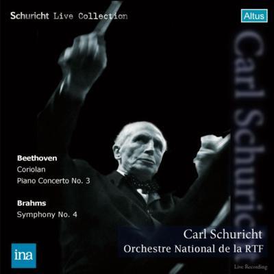 ブラームス:交響曲第4番、ベートーヴェン:ピアノ協奏曲第3番、序曲『コリオラン』 シューリヒト&フランス国立放送管、アラウ(1959ステレオ)(2CD)