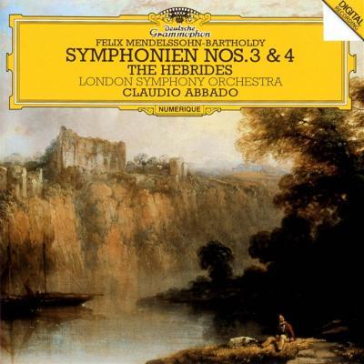 交響曲第3番『スコットランド』、第4番『イタリア』 アバド&ロンドン響(1984、85)