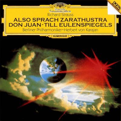 『ツァラトゥストラ』、『ドン・ファン』、『ティル』 カラヤン&ベルリン・フィル(1980年代)