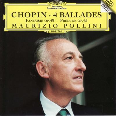 4つのバラード、4つのスケルツォ ポリーニ