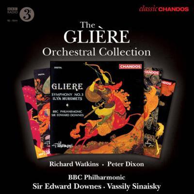 交響曲第1番、第2番、第3番、『青銅の騎士』、『赤いけしの花』、他 ダウンズ&BBCフィル、シナイスキー、R.ワトキンス(5CD)