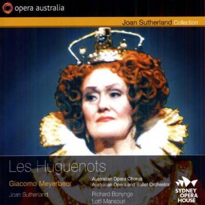 『ユグノー教徒』全曲 ボニング&オペラ・オーストラリア、サザーランド、グラント、他(1990 ステレオ)(3CD)