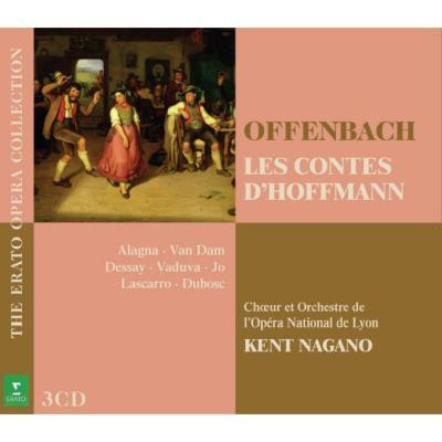 『ホフマン物語』全曲 ナガノ&リヨン国立歌劇場、アラーニャ、デセイ、他(1994−96 ステレオ)(3CD)