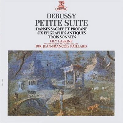 小組曲、神聖な舞曲と世俗的な舞曲、3つのソナタ、他 ラスキーヌ、ランパル、トルトゥリエ、ユボー、パイヤール指揮