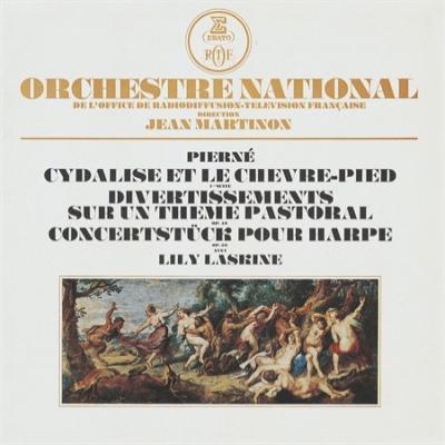 シダリーズと牧羊神、ハープ小協奏曲、ディヴェルティスマン マルティノン&フランス国立放送管、ラスキーヌ