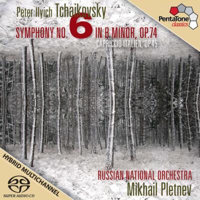 交響曲第6番『悲愴』、イタリア奇想曲 プレトニョフ&ロシア・ナショナル管弦楽団(2010)