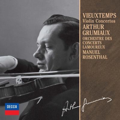 ヴァイオリン協奏曲第4番、第5番 アルテュール・グリュミオー、マニュエル・ロザンタール&ラムルー管弦楽団