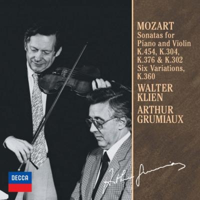 ヴァイオリン・ソナタ第26番、第28番、第32番、第40番、他 アルテュール・グリュミオー、ヴァルター・クリーン