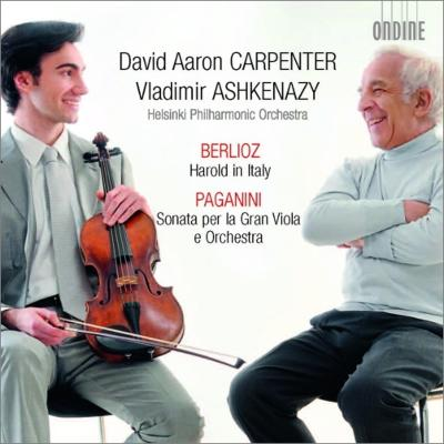 ベルリオーズ:『イタリアのハロルド』、パガニーニ:大ヴィオラと管弦楽のためのソナタ カーペンター、アシュケナージ&ヘルシンキ・フィル