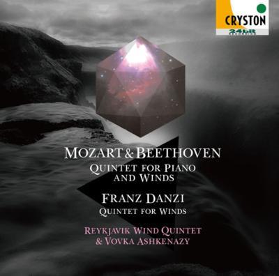 Mozart Piano Quintet, Beethoven Piano Quintet, Danzi Wind Quintet : V.Ashkenazy(P)Reykjavik Wind Quintet