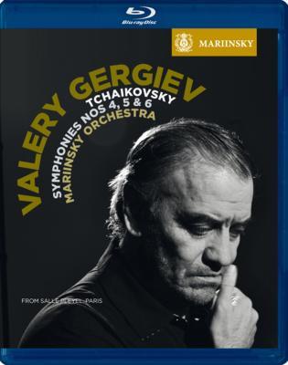交響曲第4番、第5番、第6番『悲愴』 ゲルギエフ&マリインスキー歌劇場管弦楽団(2010パリ・ライヴ)