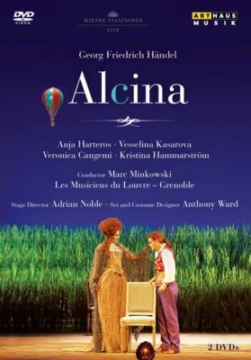 『アルチーナ』全曲 ノーブル演出、ミンコフスキ&ルーヴル宮音楽隊、ハルテロス、カサロヴァ、他(2010 ステレオ)(2DVD)(日本語字幕付)