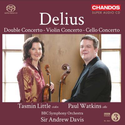 ヴァイオリン協奏曲、チェロ協奏曲、二重協奏曲 リトル、ワトキンス、A.デイヴィス&BBC響