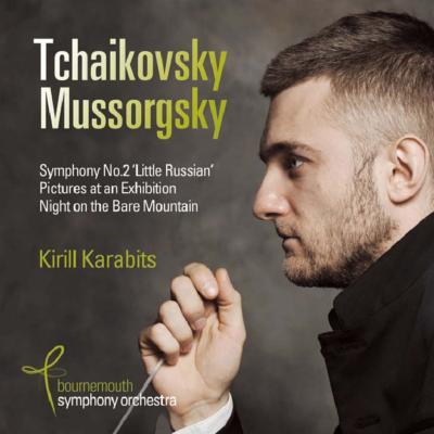 ムソルグスキー:展覧会の絵、禿山の一夜(原典版)、チャイコフスキー:交響曲第2番 カラビツ&ボーンマス交響楽団