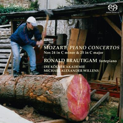 ピアノ協奏曲第24番、第25番 ブラウティハム(フォルテピアノ)、ウィレンズ&ケルン・アカデミー