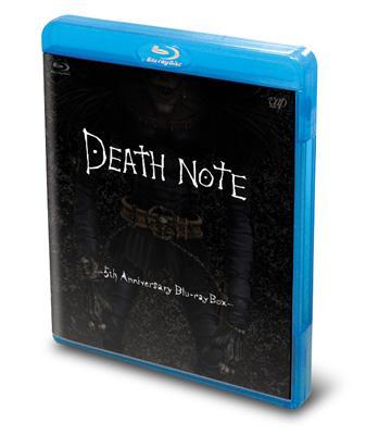 DEATH NOTE デスノート ‐5th Anniversary Blu-ray Box‐(Blu-ray本編2枚+特典DVD1枚)
