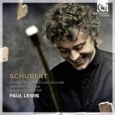 ピアノ・ソナタ第15番、第17番、第18番、4つの即興曲、他 ポール・ルイス(2CD)