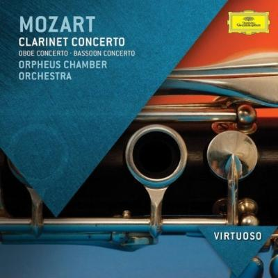 クラリネット協奏曲、ファゴット協奏曲、オーボエ協奏曲 ナイディック、モレッリ、オルフェウス室内管弦楽団