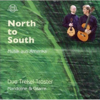 North To South-music From America: Duo Trekel-troster(Mand & G)