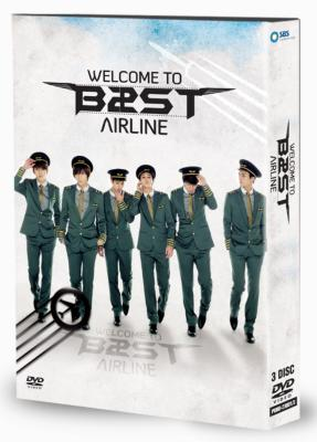 BEAST The 1st Concert WELCOME TO BEAST AIRLINE DVD