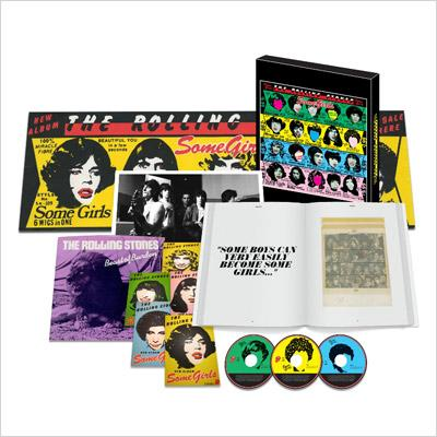 Some Girls: 女たち (Super Deluxe Edition)(CD+DVD+7inch)