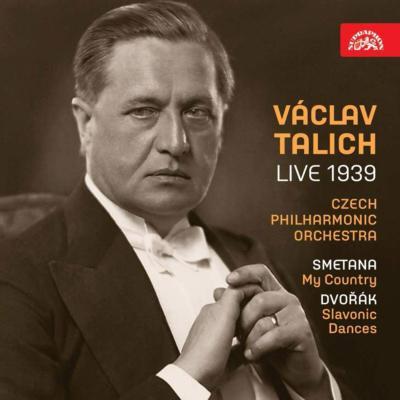 スメタナ:『わが祖国』全曲、ドヴォルザーク:スラヴ舞曲第2集 ヴァーツラフ・ターリヒ&チェコ・フィル、ラジオジャーナル管(1939年ライヴ)(2CD)