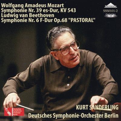 ベートーヴェン:交響曲第6番『田園』、モーツァルト:交響曲第39番 ザンデルリング&ベルリン・ドイツ交響楽団(1991)