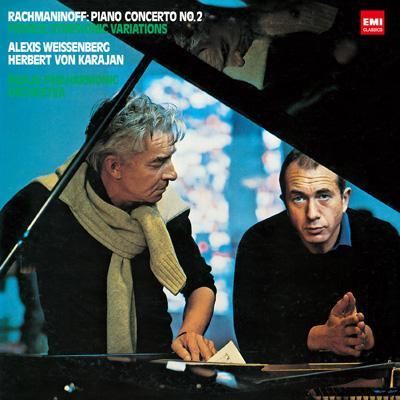 ラフマニノフ:ピアノ協奏曲第2番、フランク:交響的変奏曲 ワイセンベルク、カラヤン&ベルリン・フィル