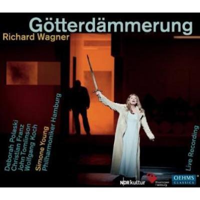 『神々の黄昏』全曲 シモーネ・ヤング&ハンブルク州立歌劇場、ポラスキ、C.フランツ、トムリンソン、他(2010 ステレオ)(4CD)