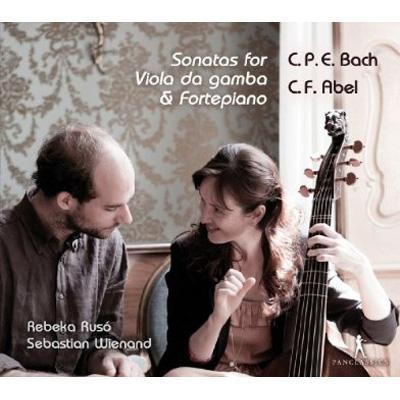 Gamba Sonatas: Ruso(Gamb)Wienand(Fp)+abel